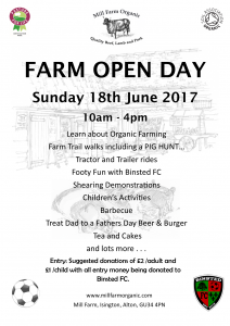 Mill Farm Open Day Flier 2017